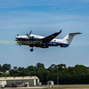 ZZ503 Beechcraft avenger departs RIAT