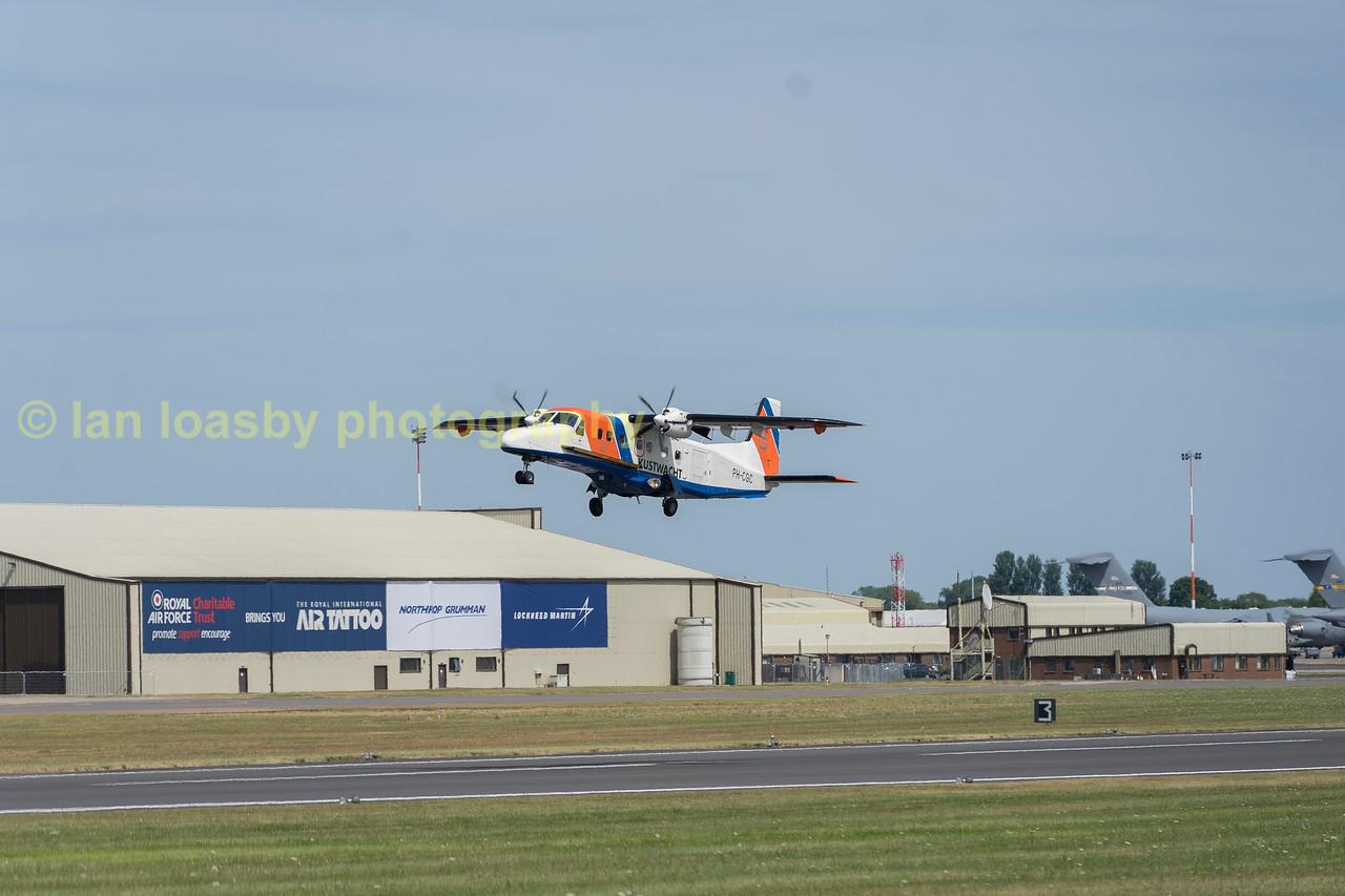 Dutch coastguard Dornier 228-212 PH-CGC departs
