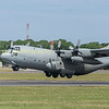 Swedish Air Force C130  845 departing RIAT