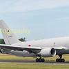 Japanese Self Defence Force  87-3601 Boeing KC-7671 departs RIAT 2017