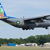 Pakistan Air Force C130  415 /153 departing from RIAT 2017