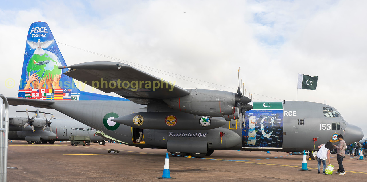 Pakistan Air Force C130E Hercules