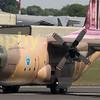 The Royal Jordanian C-130 departs
