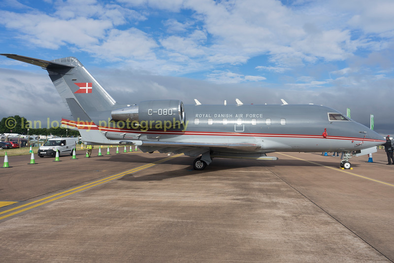 C-080 is a Dannish Air Force Bombardier challenger CL604