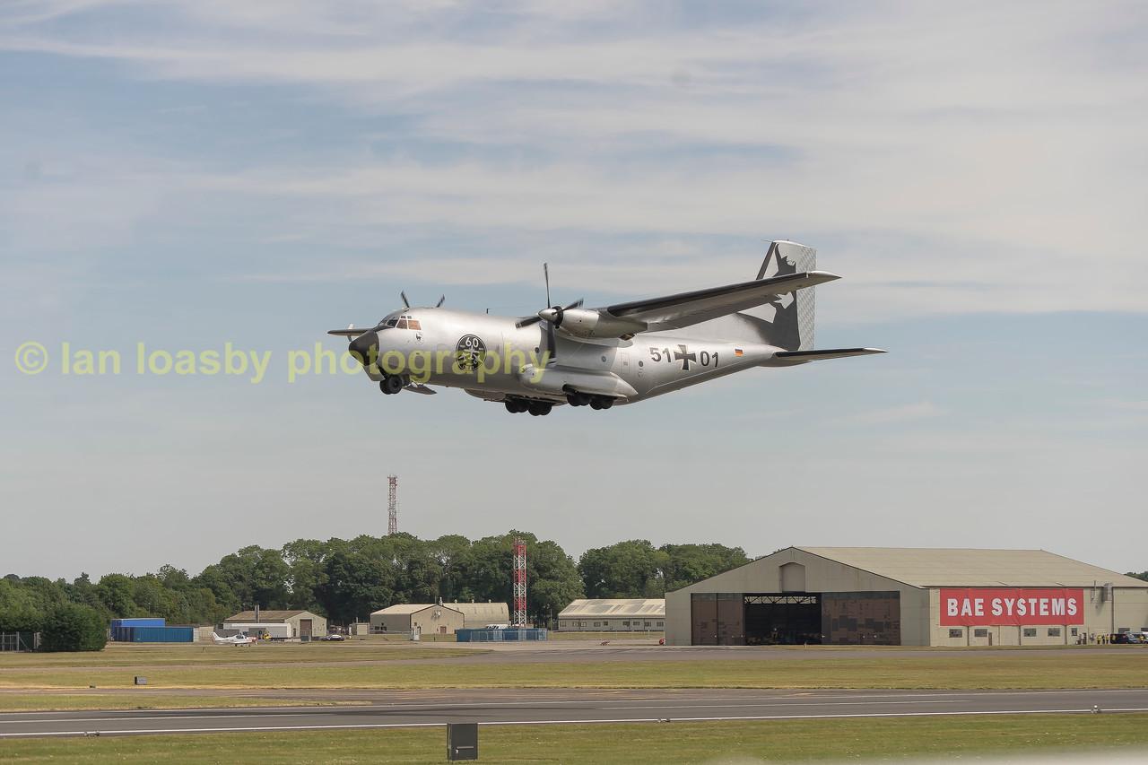 Luftwaffe Transal 51 +01l C-160D