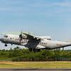 Spannish Casa 295M T21-04 departs Riat