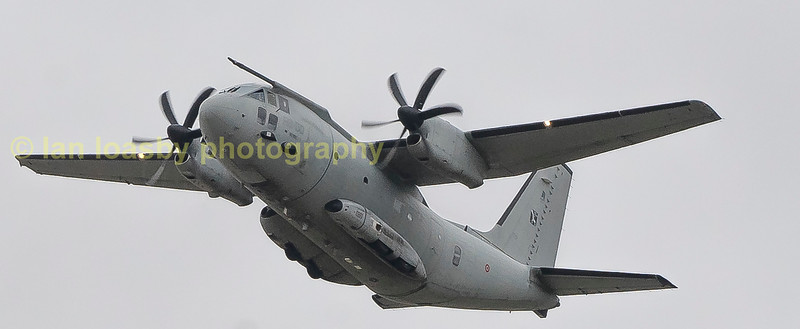 RS-50 from 311 Gruppo Italian Air Force C-271 Spartan