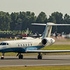 Gates Lear jet 80-1073 / BB departs back to its base in Ramstein Germany
