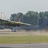 F22  Raptor 08-4163 departs in spectacular fashion