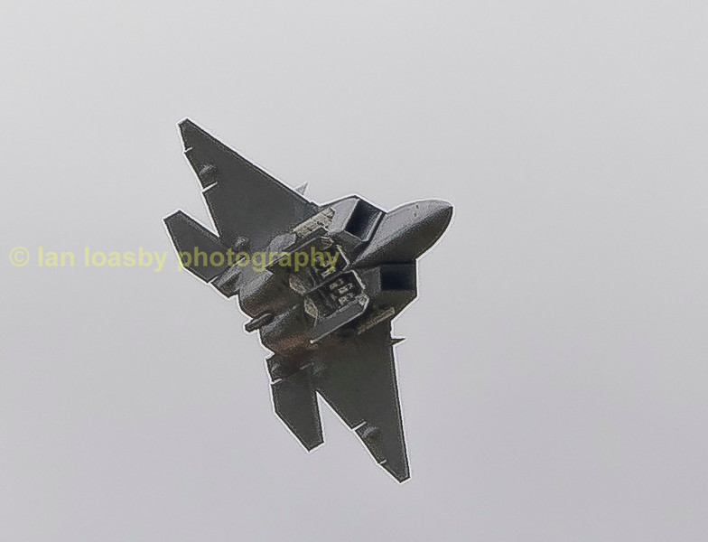 Lockhead Martin F22 A Raptor 09-4180 / FF from the 1st Fighter Wing