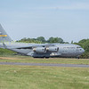 Boeing C-17A GlobemasterIII taxis down to despersal prior to departure