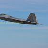 F22  Raptor 08-4163 departs