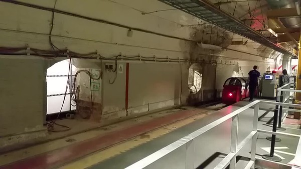 This short video shows the train returning from the previous tour.