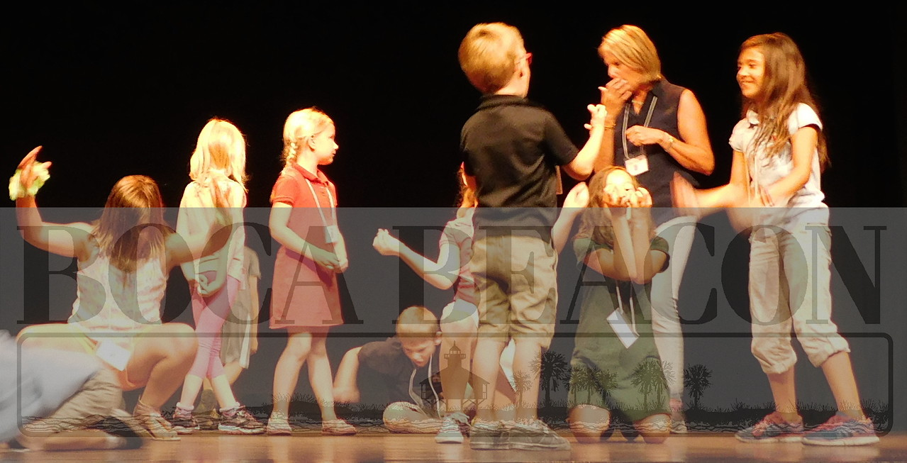 """Hats Off to You"" Royal Palm Players Kids Drama Club production"