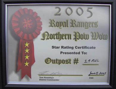 June 2005 RR - Sun. Service & Awards