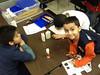 Ranger Kids at NLC Making Patrol Collages Jan 2014