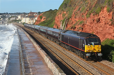 Royal Train at Dawlish
