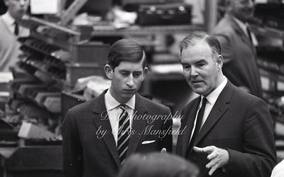 A young prince Charles .. unknown event