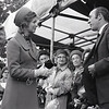 July 24th 1967 . Princess Alexandra opens St Christopher's hospice