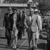 Princess Ann with mayor of Greenwich Tony Moon
