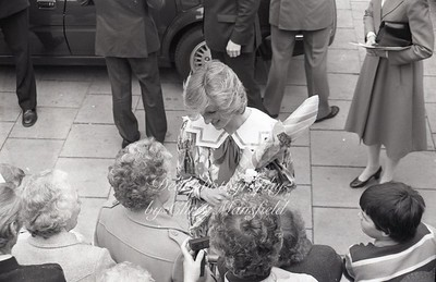 1982 Princess Diana opens the new Albany centre in Deptford