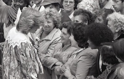 1982, Princess Diana opens the Albany centre in Deptford