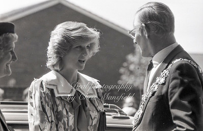 May 18th 1982, . Princess Diana opens the Albany centre in Deptford