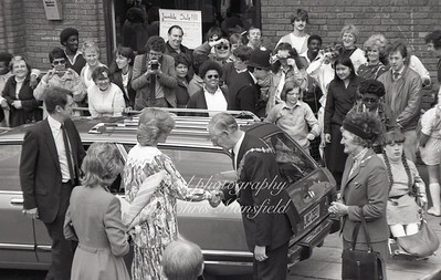 1982 Princess Diana opens the Albany centre in Deptford