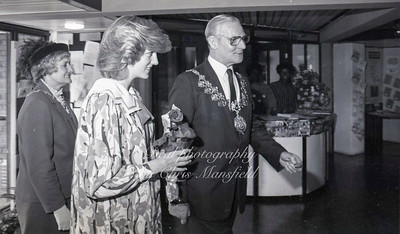 Princess Diana opens the Albany theatre at Deptford 1982