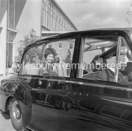 Queen at Aylesbury, Grange School, Apr 6th 1962