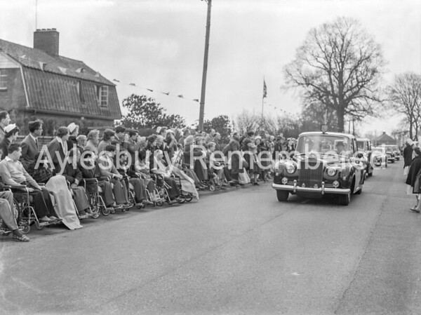 Queen at Aylesbury, Mandeville Road, Apr 6th 1962
