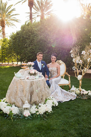 Royal Wedding Styled Shoot with Vegas Weddings