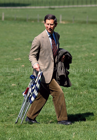 Prince Charles on a painting trip in Wales U.K. Exclusive Picture © LesleyDonald