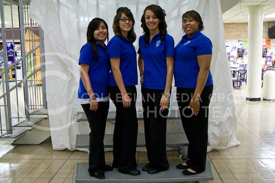 1. Maria Gomez (Elementary Education, JR); 2. Rebecca Gomez (Management, SR); 3. Julisa Hernandez (Elementary Education, JR); 4. Starr Price (ASI, FR)