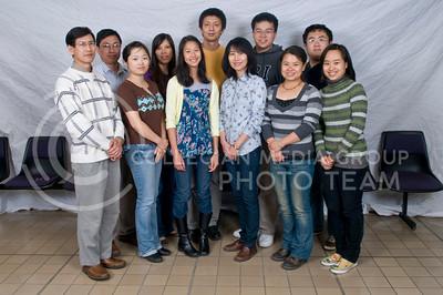 1. Shing Chang (IMSE, Advisor); 2. Yunyun Lu (Economics, PHD); 3. Rachel Chang (Anthony Middle School); 4. Chih-Ching Ma (Advisor); 5. Xin Zie (Economics, PHD); 6. Xiaojing Zhang (Math, PHD); 7. Xuiming Lite (Entomology, PHD); 8. Ning Huang (Biology, PHD); 9. Kanglin Yao (RCP, SR); 10. Hongzhou Huang (Grain Science, PHD); 11. Fuhua Tian (Human Resource Management, PHD)