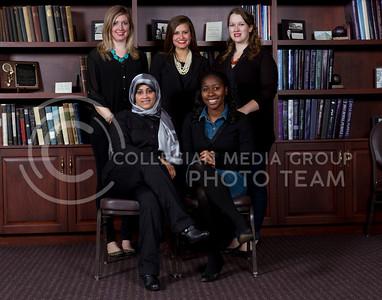 Apparel and Textile Graduate Student Organization  Hayat Alblousky, Shelia West  Lauren Reiter, Kelby Polfer, Erin Monfron-Nelson