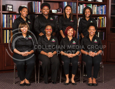Kappa Pi  Jasmine Jordan, Kathryn Blair, Jasmine Holmes, Ashley Cavazos   Jasmine Thompson, Cassandra Smith, Jazmin Richmond, Joceryn Clemons
