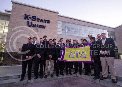 Delta Tau Delta  (Photo by Evert Nelson / Royal Purple)