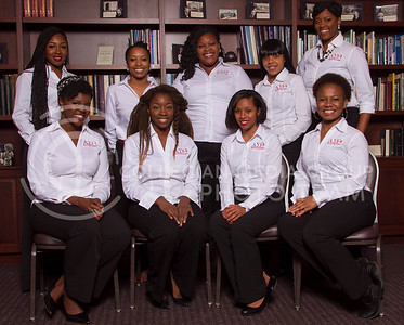 Delta Sigma Theta  (Photo by Evert Nelson / Royal Purple)