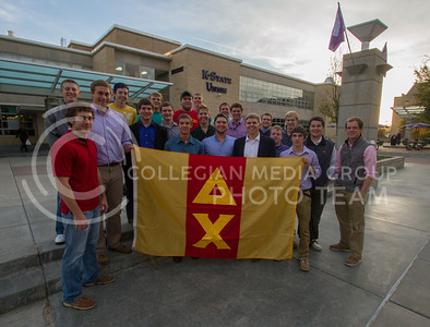 Delta Chi  (Photo by Evert Nelson / Royal Purple)