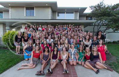 Sigma Kappa  (Photo by Evert Nelson / Royal Purple)