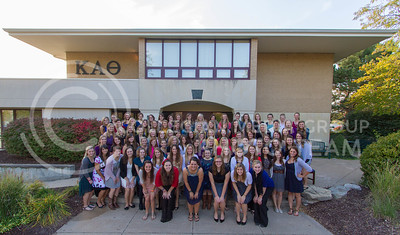 Kappa Alpha Theta  (Photo by Evert Nelson / Royal Purple)