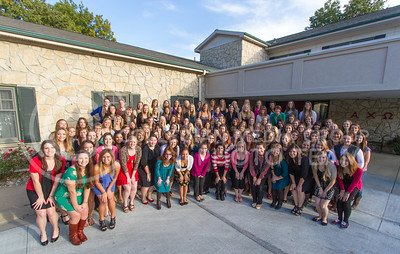 Alpha Chi Omega  (Photo by Evert Nelson / Royal Purple)