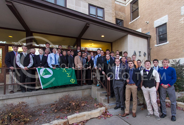 Delta Sigma Phi  (Photo by Evert Nelson / Royal Purple)