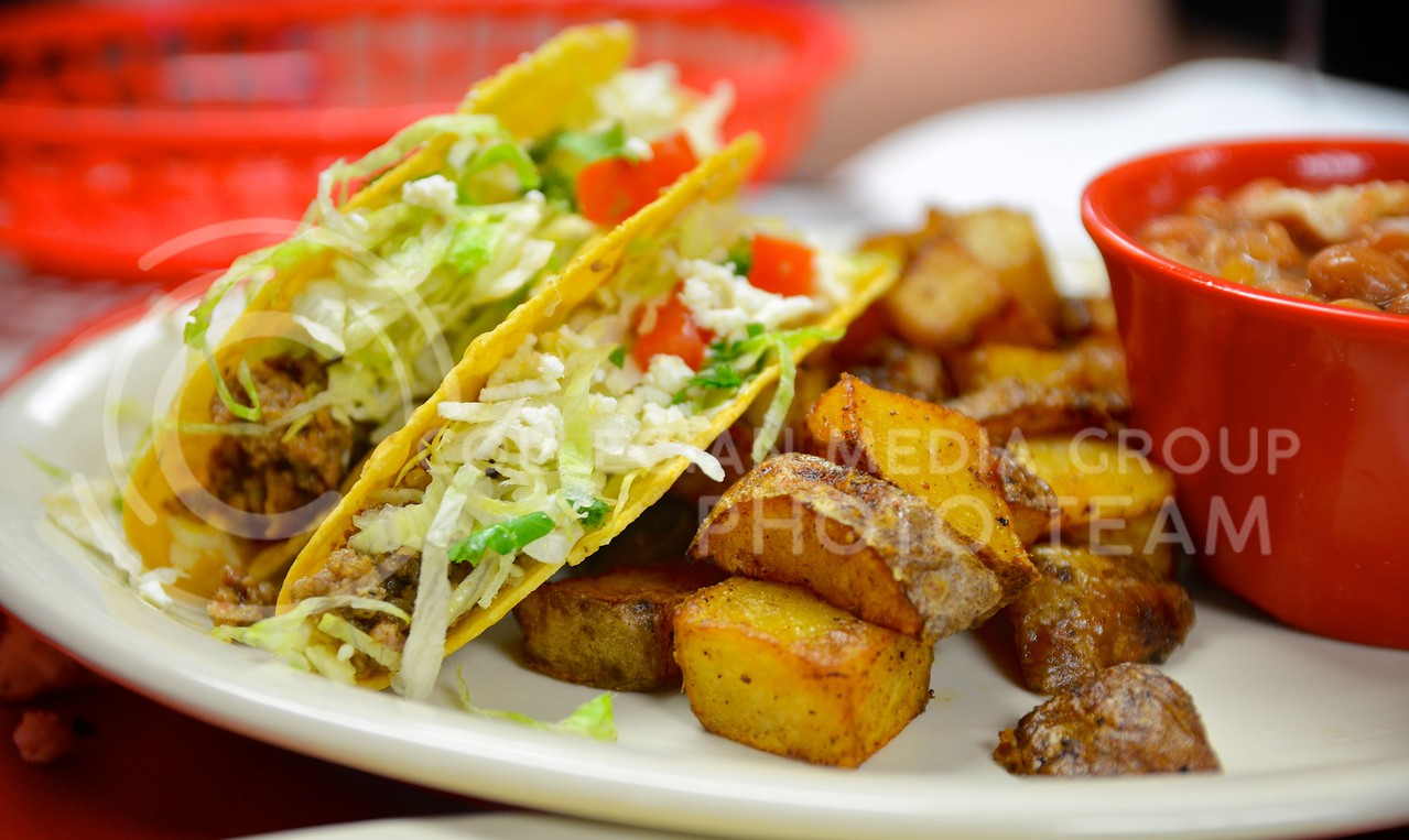 As the name suggests, tacos are one of Fuzzy's Taco Shop's specialties. The restaurant with the funny name recently opened in Aggieville in the property vacated by the Hibachi Hut. Parker Robb | Royal Purple