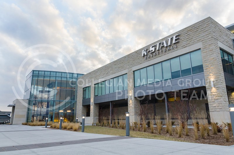 The K-State basketball training facility, which sits on the east side of Bramlage Coliseum, was completed in the fall of 2012 at a cost of $18 million, which was all privately funded, and contains 50,000 square feet split between two practice courts, locker rooms, lounges, offices, film room, weight room, atrium lobby, and a sports medicine center with a state-of-the-art hydrotherapy facility.