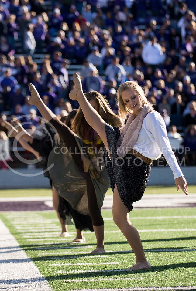 Photo by Hannah Hunsinger | The Collegian<br /> <br /> KSU vs. West Virginia, on Oct. 26, 2013 in Bill Snyder Fmaily Stadium