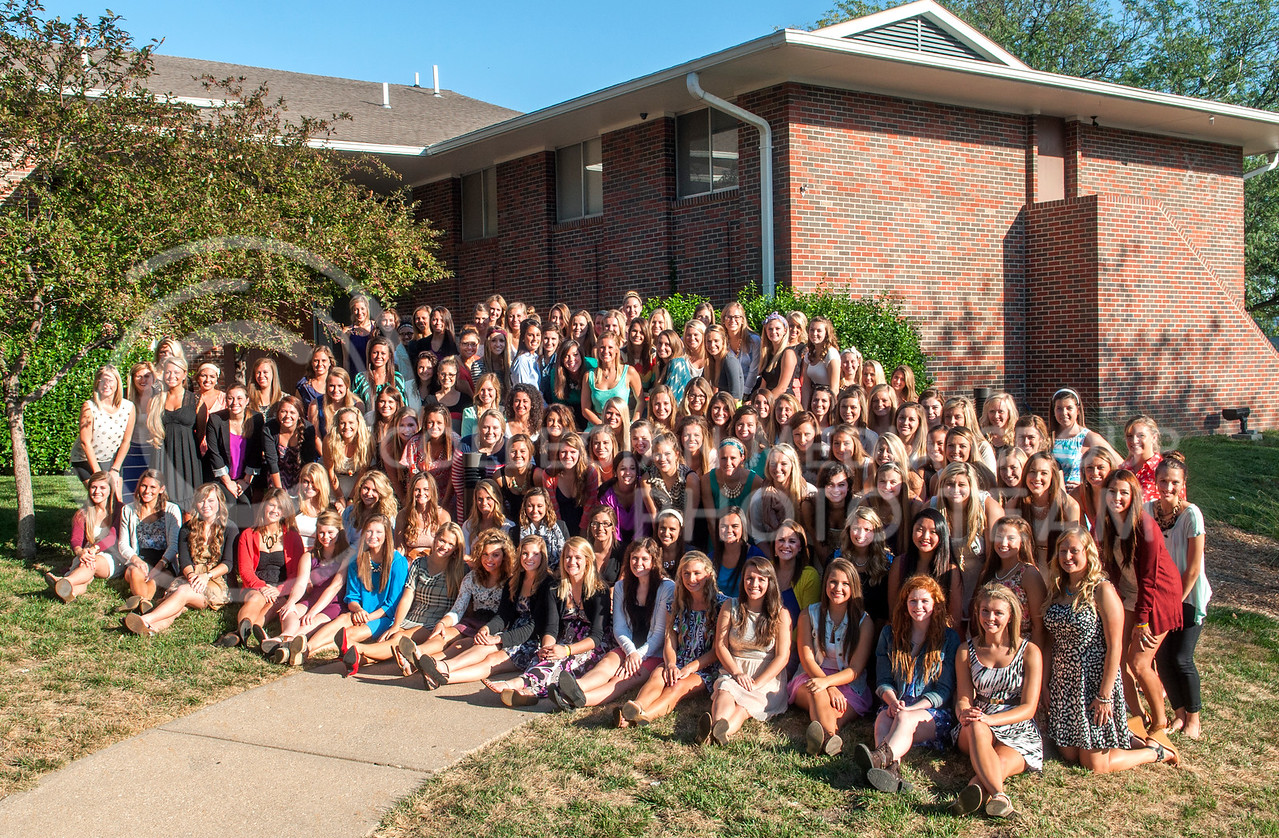Photo by Hannah Hunsinger | Royal Purple<br /> <br /> Chi Omega