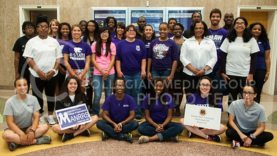 Photo by Emily DeShazer | Royal Purple  Minorities in Agriculture Natural Resources and Related Sciences