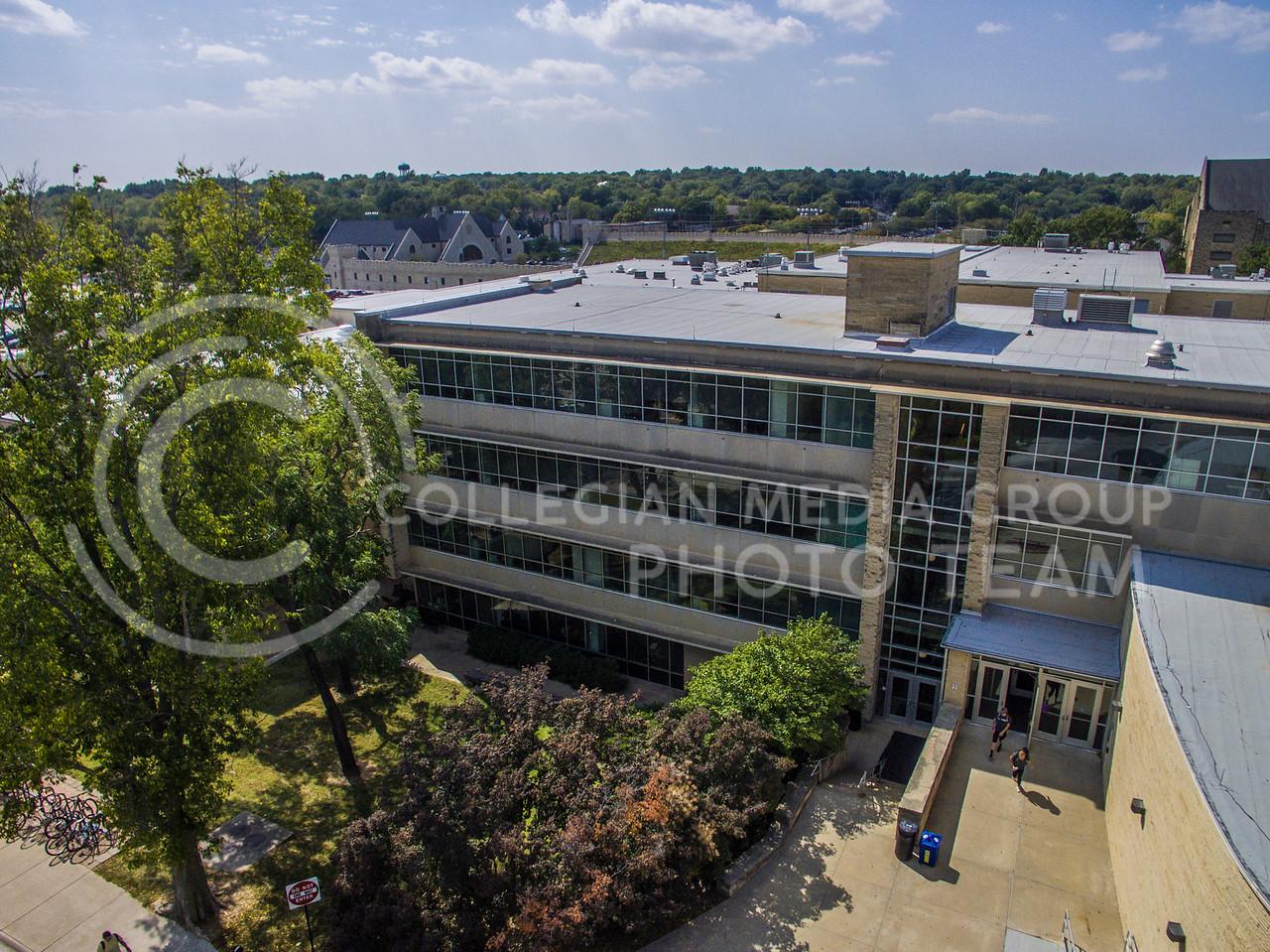 Kansas State University Student Union on Sept. 21, 2017. (Logan Wassall | Collegian Media Group)